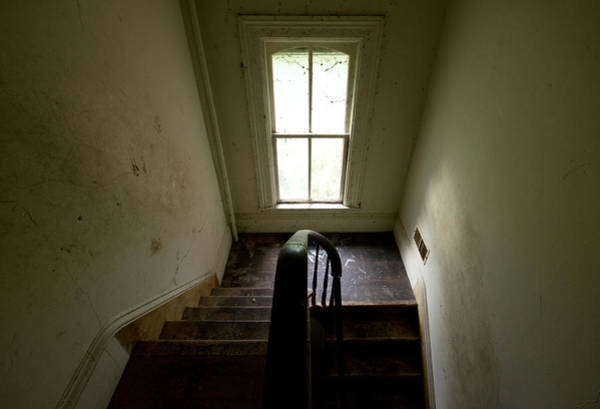 Abandoned Stairs Poster