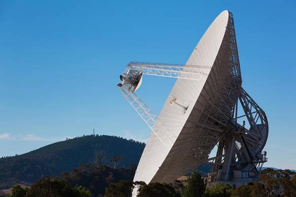 Australia, Canberra, Radio Telescopes Poster