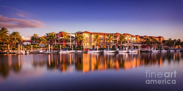 Bay Resort Naples Florida Poster