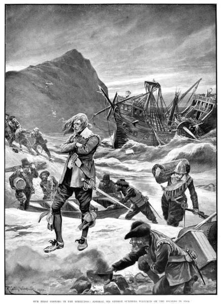 Bermuda Shipwreck, 1609 Poster