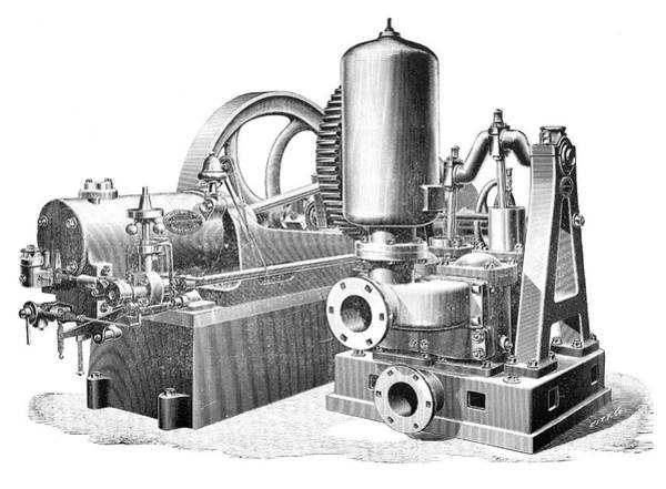 Crossley Gas Engine, 1897 Poster