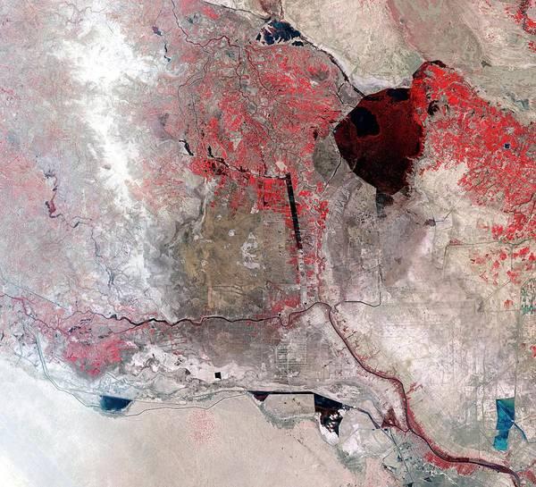 Disappearing Iraqi Marshlands Poster