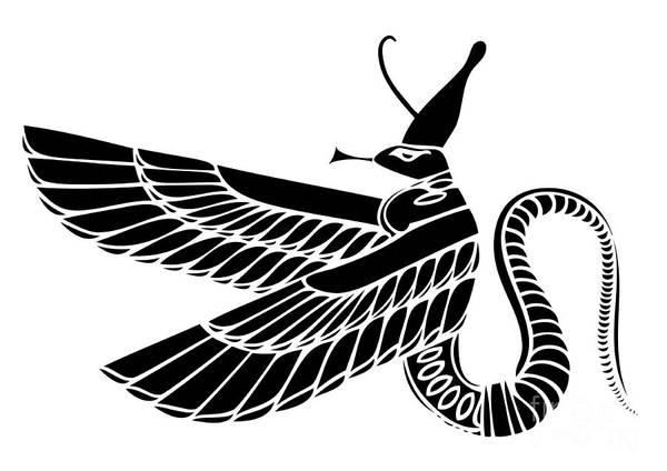 Egyptian Demon Poster