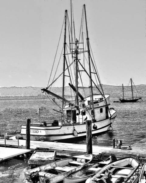 Fishing Boat Aquero Poster