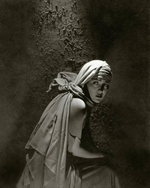 Gloria Swanson In Character Poster