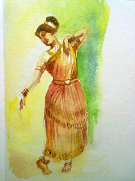 Indian Dancer Poster