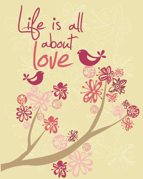 Life Is All About Love Poster