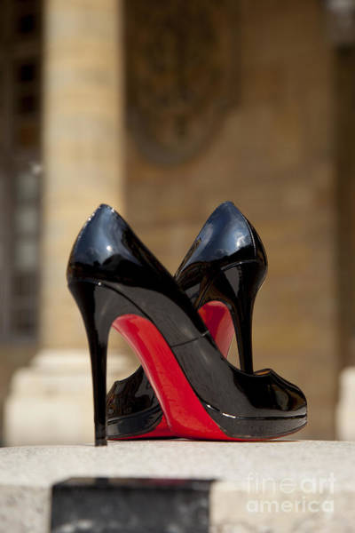 Poster featuring the photograph Louboutin Heels by Brian Jannsen