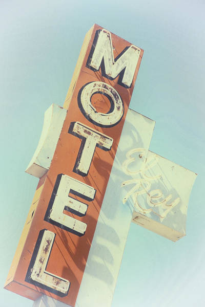 Poster featuring the photograph Motel El Rey by Gigi Ebert