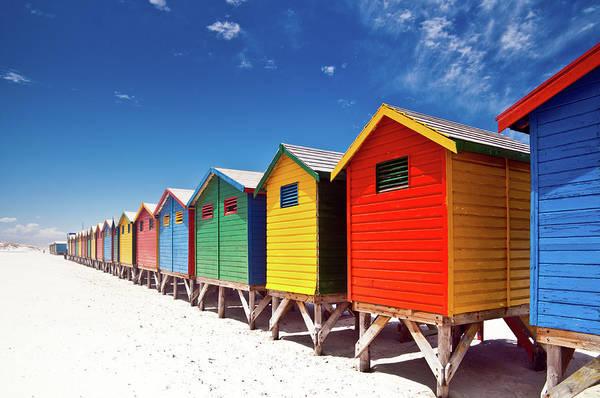 Muizenberg Beach Cape Town Poster