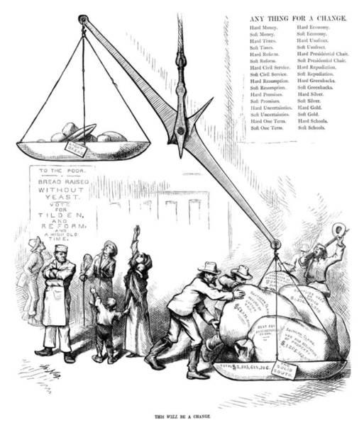 Nast Election, 1876 Poster