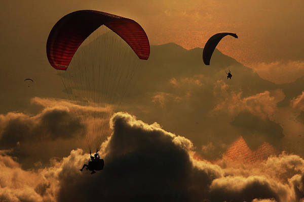 Paragliding Poster