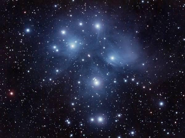 Pleiades M45 Poster
