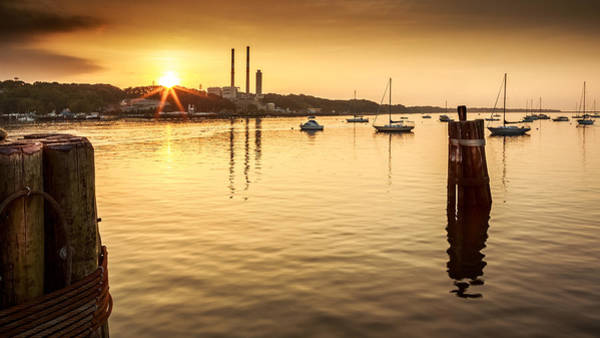 Poster featuring the photograph Port Jefferson by Mihai Andritoiu