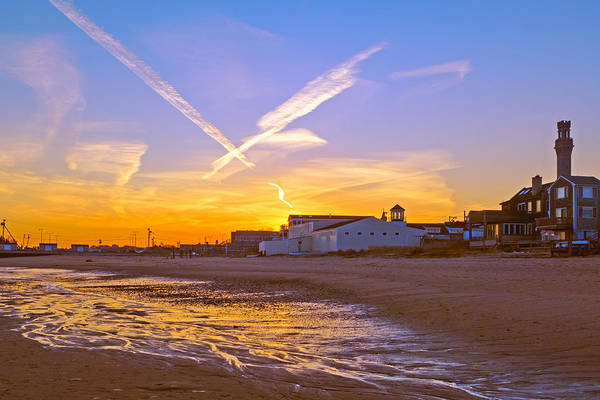 Provincetown Beach At Sunset Poster