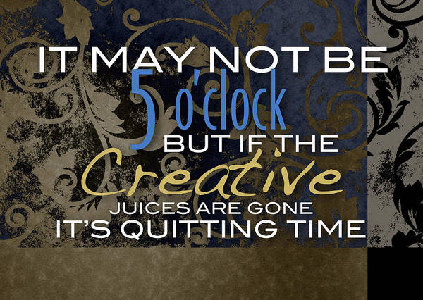 Quitting Time Poster