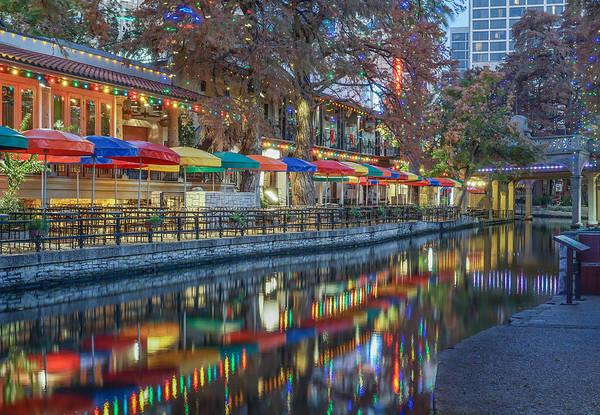 San Antonio Riverwalk Poster
