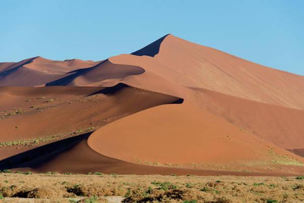 Sand Dunes, Sossusvlei, Namib Desert Poster