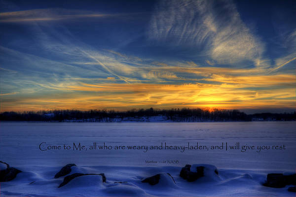 Scripture Photo Poster