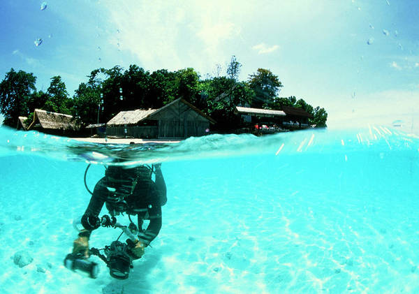 Scuba Diver Poster