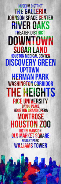 Streets Of Houston 1 Poster