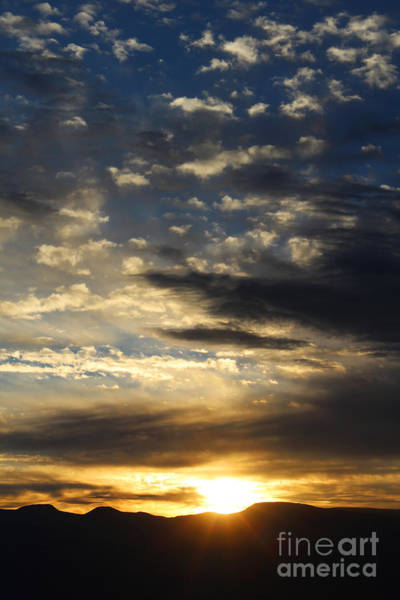 Sunrise From Mt. Elbert Poster
