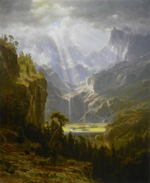 The Rocky Mountains Lander's Peak Poster