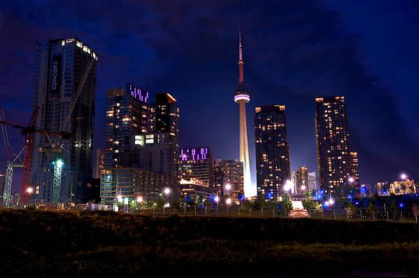 Toronto By Night Poster