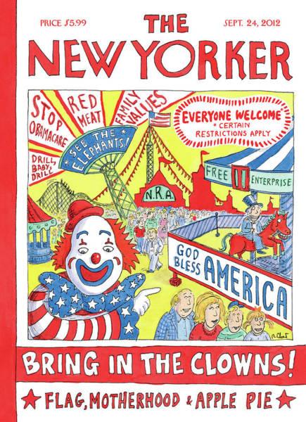 New Yorker September 24th, 2012 Poster