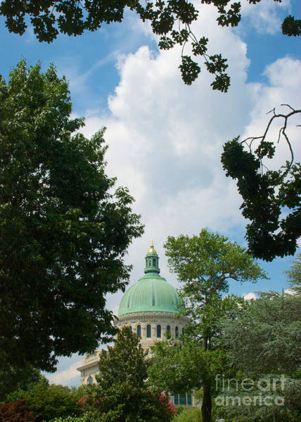 Us Naval Academy Chapel Dome Poster