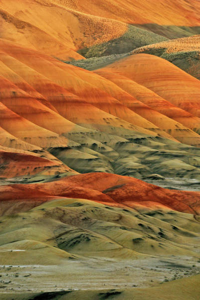 Usa, Oregon, John Day Fossil Beds Poster
