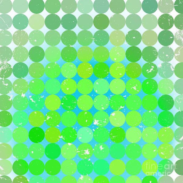 Vintage  Circles Pattern.geometric Poster