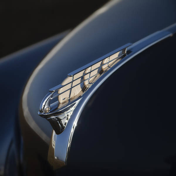 Vintage Plymouth Hood Ornament Poster
