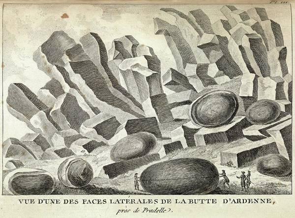 Volcanic Basalt Formations Poster