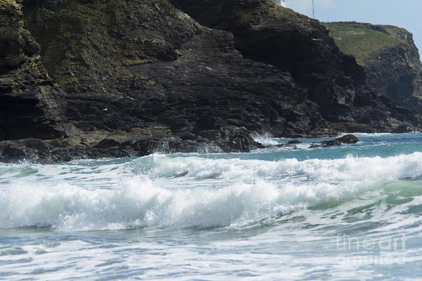 White Surf Poster