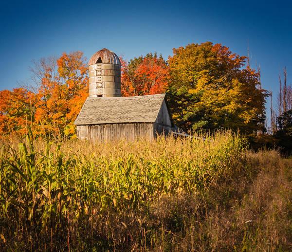 Wildwood Farm In Fall Poster