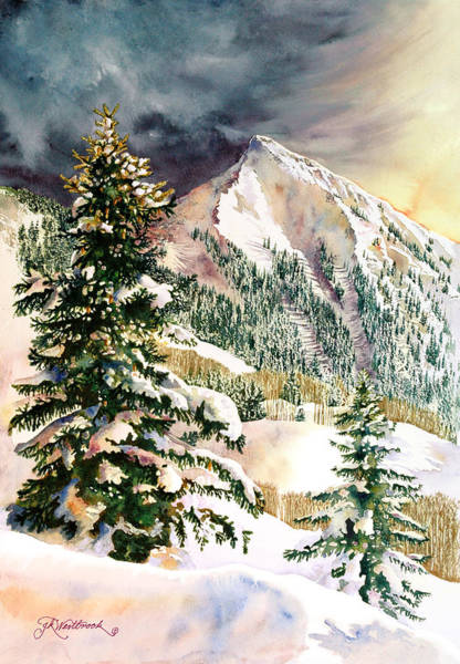 Winter Morning Prism Poster