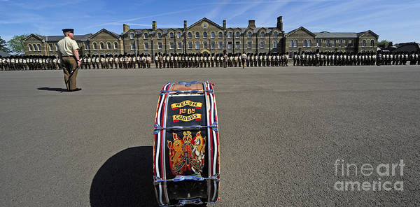 1st Battalion Welsh Guards On The Drill Poster