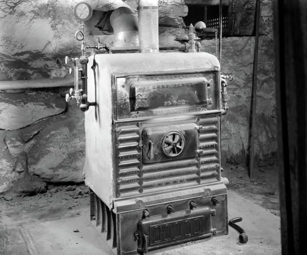 1920s Coal Burning Steam Water Boiler Poster