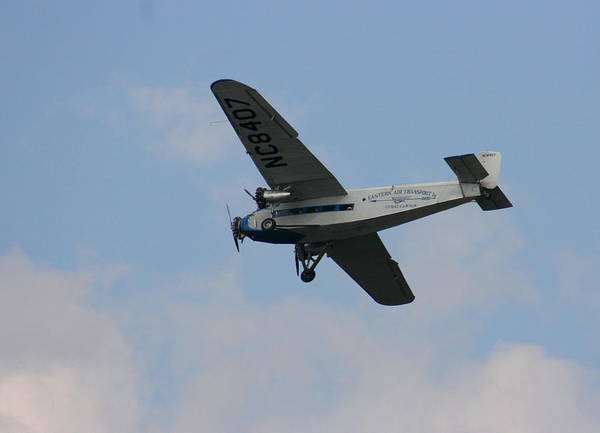1929 Ford Tri Motor Mail Plane Side Poster