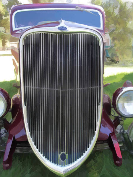 1933 Ford Grille Poster