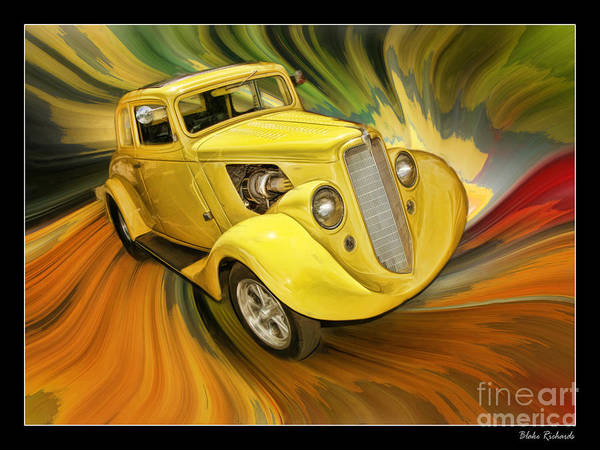 1936 Willys Poster
