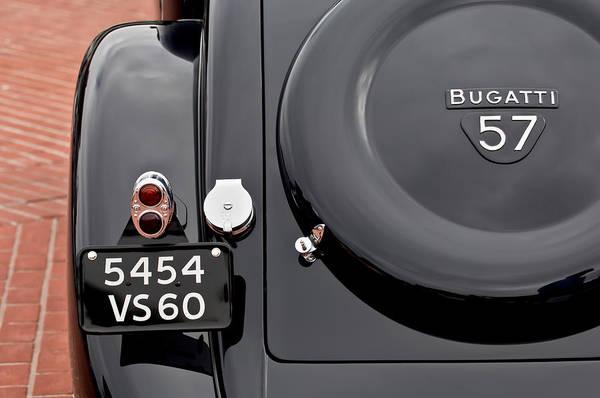 1937 Bugatti Type 57c Ventoux Poster