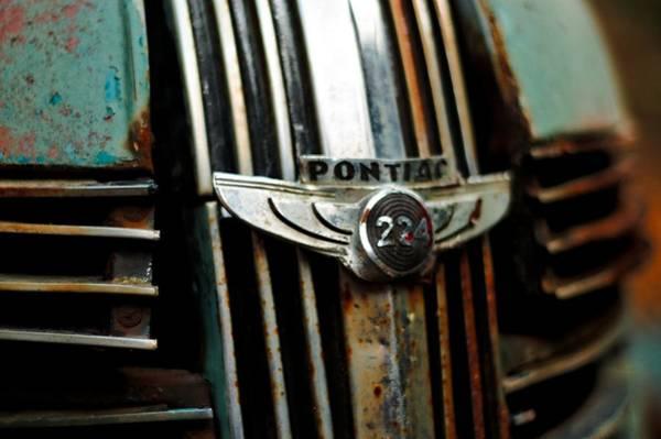 1937 Pontiac 224 Grill Emblem Poster