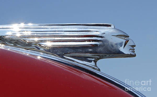 1939 Pontiac Hood Ornament Poster