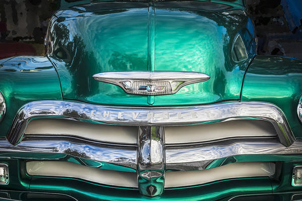 1955 Chevrolet First Series Poster