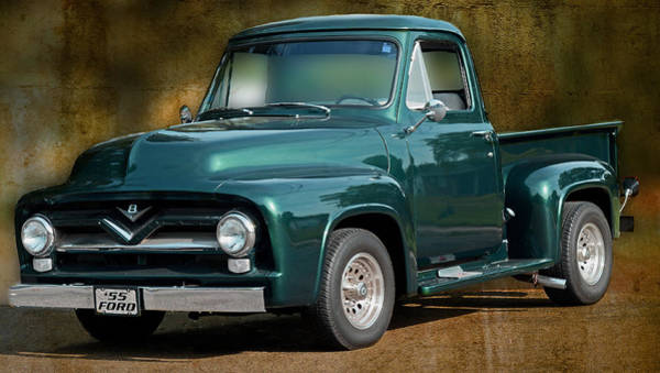 1955 Ford Truck Poster