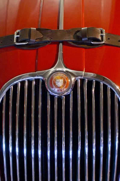 1958 Jaguar Xk150 Roadster Grille Emblem Poster
