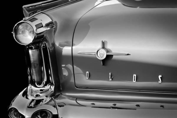 1958 Oldsmobile 98 Taillight Emblem Poster