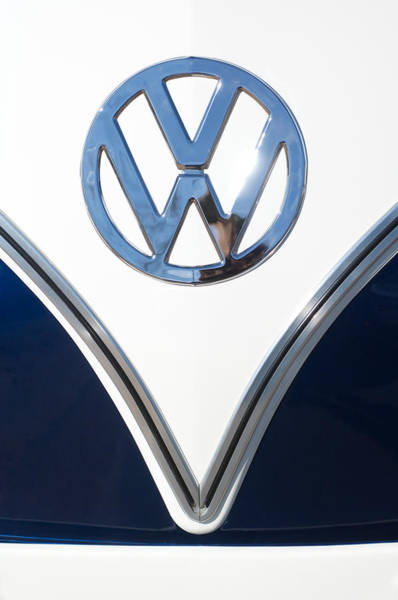 1958 Volkswagen Vw Bus Emblem Poster